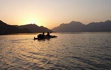 Départ dans le Fjord Sham