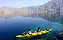 Quatre jours de Kayak et randonnée dans la baie de Sham