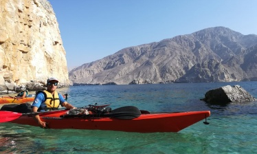 Week-end kayak à Oman (Musandam)