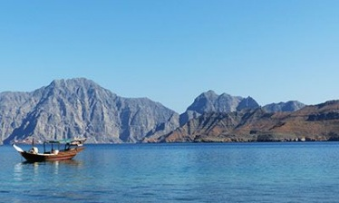 Musandam by Dhow