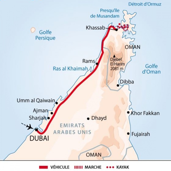 Carte Dubai Oman.Kayaking In The Fjords Of Arabia Altai Oman